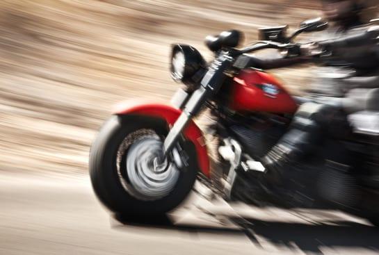 תאונה ברכיבה על אופנוע