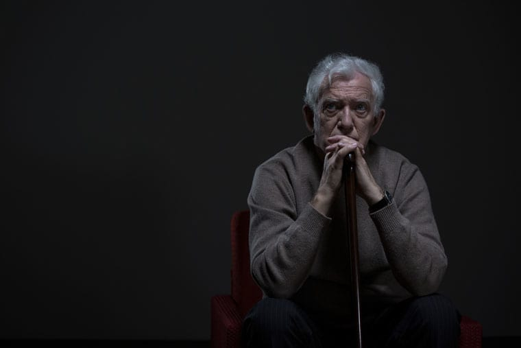 קשיש סיעודי בדיכאון