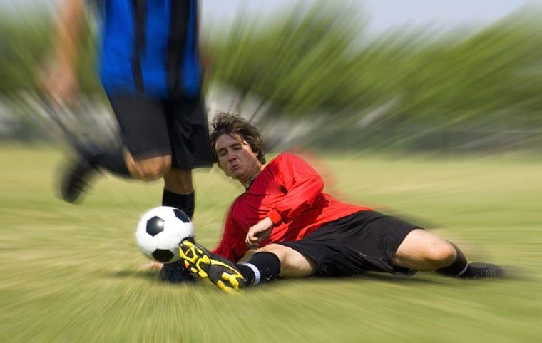 פציעה במשחק כדורגל