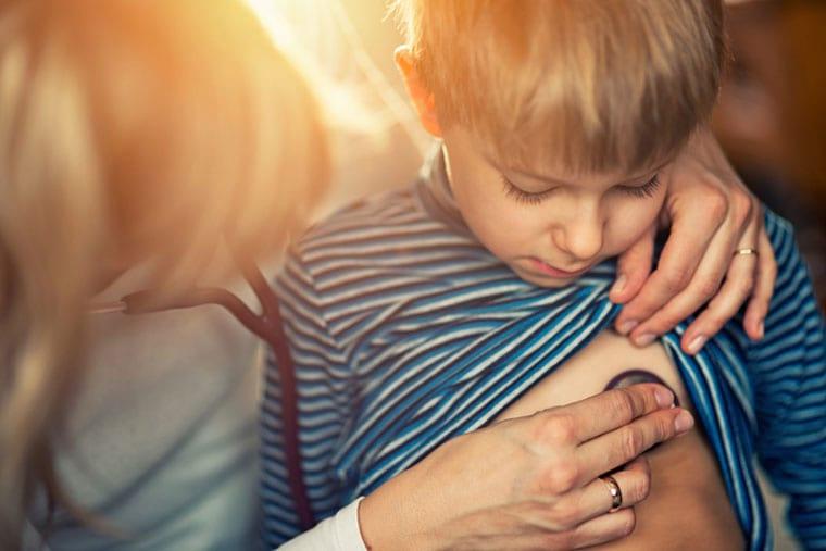 טיפול רפואי של ילד