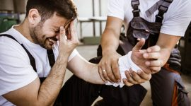 פגיעה ביד בעבודה